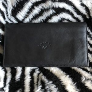 Lancel leather wallet